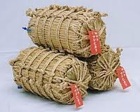 Japanese straw rice‐bags
