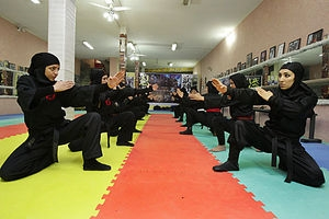 Female Ninjas in Iran
