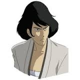 Goemon in the anime Lupin the Third