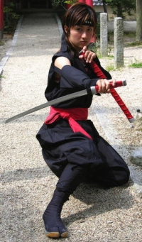 Female Ninja of our image