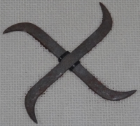 Swastika shaped Shuriken2